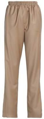 Givenchy Wool-Twill Straight-Leg Pants