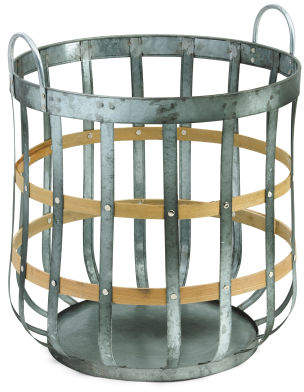 Medium Metal Storage Basket