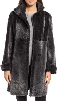 Blue Duck Fitted Reversible Genuine Shearling Coat