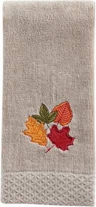 Celebrate Fall Together Leaves Fingertip towel