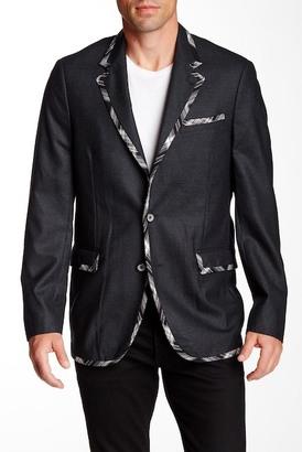 Robert Graham Leeds Woven Wool Sport Coat $598 thestylecure.com