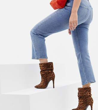 New Look Wide Fit Stiletto Heeled Boot