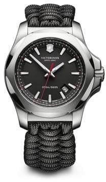 Victorinox I.N.O.X. Black Paracord Strap Watch