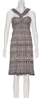 Missoni Patterned Sleeveless Dress Patterned Sleeveless Dress