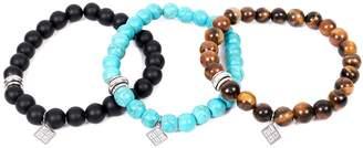 SARTESORI - Set Of Three Beads Bracelets