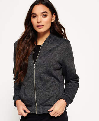 Superdry Orange Label Micro Jersey Luxe Bomber