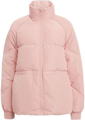 Ganni Tech Pink Puffer