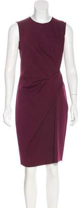 Lanvin Pleated Sheath Dress