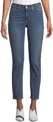 NYDJ Alina Convertible Ankle Straight-Leg Jeans