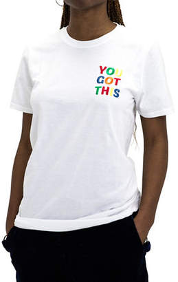 ADOLESCENT CLOTHING You Got This Cotton Tee