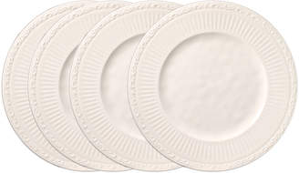 Mikasa Set of 4 Melamine Dinner Plates