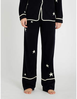Chinti and Parker Star-intarsia cashmere pyjama bottoms