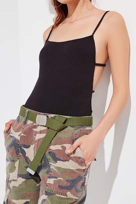 Urban Outfitters Web Buckle Belt