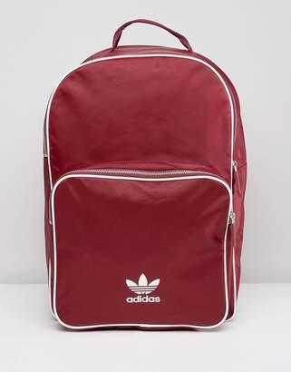adidas Adicolor Backpack In Burgundy Cw0627