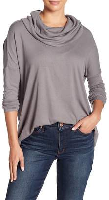 BB Dakota Hogen Split Back Long Sleeve Shirt