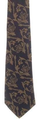 Chanel Patterned Silk Tie