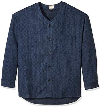 Thaddeus O'Neil Men's Patchwork Shirt