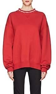 Acne Studios Women's Yana Cotton Sweatshirt - Ruby Red