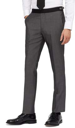 Bonobos Capstone Slim Fit Flat Front Tuxedo Trousers