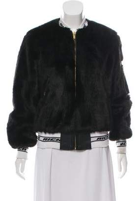 Joyrich Faux Fur Zip-Up Jacket