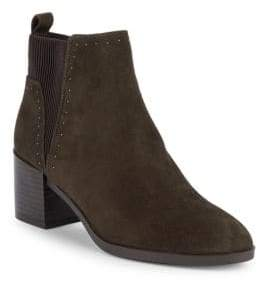 Nine West Studded Suede Ankle Boots