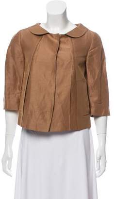 Philosophy di Alberta Ferretti Lightweight Button-Up Jacket