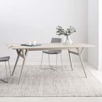 west elm Mid-Century Expandable Dining Table - Pebble
