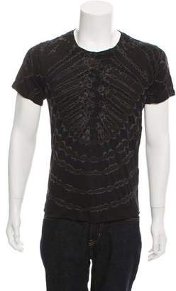 Raquel Allegra Tie-Dye Crew Neck T-Shirt w/ Tags