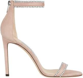 Jimmy Choo Dochas Crystal Embellished Sandals