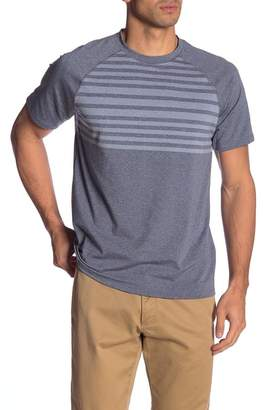 Peter Millar Rio Engineered Stripe Tech Tee