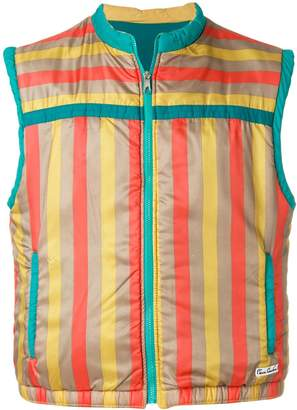 Pierre Cardin Pre-Owned striped padded gilet
