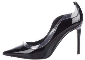 Tamara Mellon Patent Leather Pointed-Toe Pumps