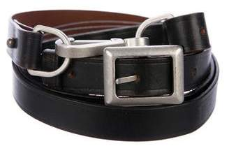 Victoria Beckham Adjustable Leather Belt