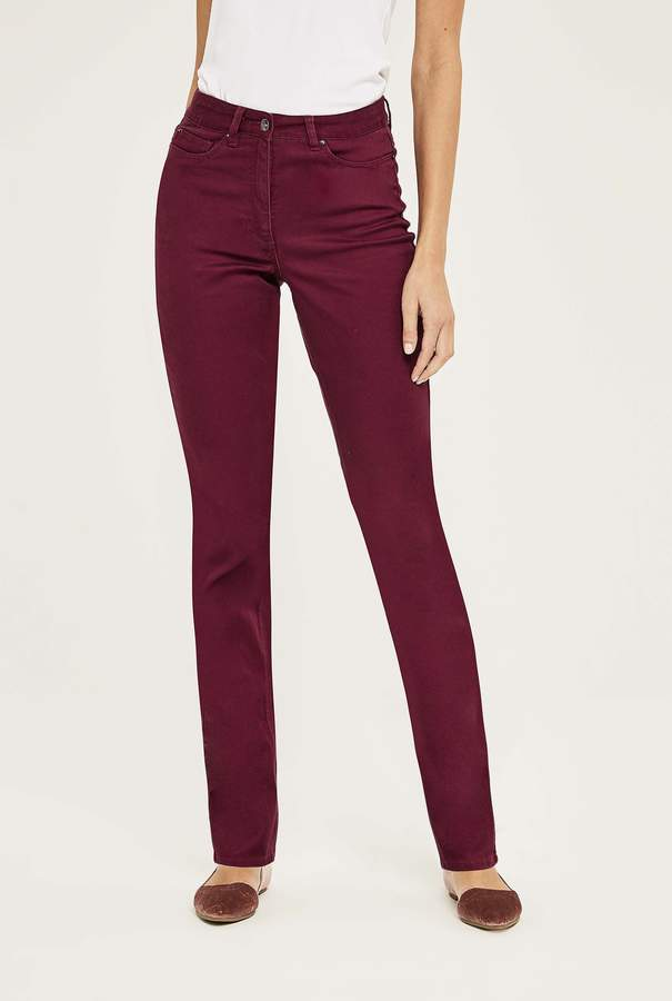 Long Tall Sally Tencel Mix Slim Leg Jean