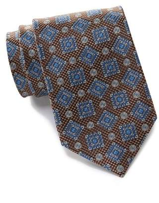 David Donahue Silk Medallion Tie
