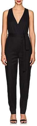 A.L.C. Women's Spencer Linen-Blend Belted Jumpsuit