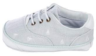Polo Ralph Lauren Boys' Embroidered Low-Top Sneakers w/ Tags