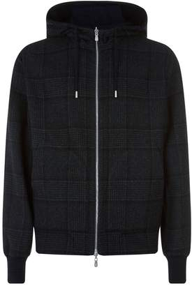 Brunello Cucinelli Hooded Bomber Jacket