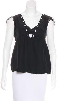 Vena Cava Sleeveless Cutout Top