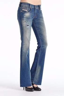 Diesel Bootcut Distressed Jean