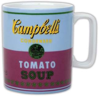 Galison; Andy Warhol Andy Warhol Campbell's Soup Red Violet Mug (Other)