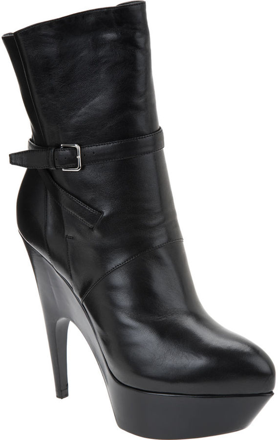 Yves Saint Laurent Imperiale Bootie - Black