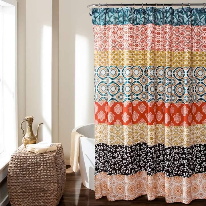 Bohemian Stripe Shower Curtain