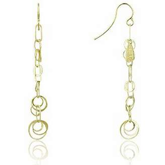 Orlando Orlandini Star - 18K Gold Yellow Circles Earrings