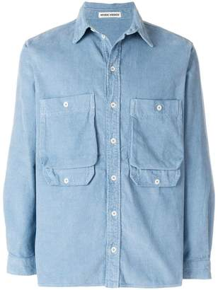 Henrik Vibskov multi-pocket shirt