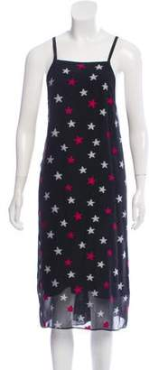 Rag & Bone Sleeveless Printed Midi Dress
