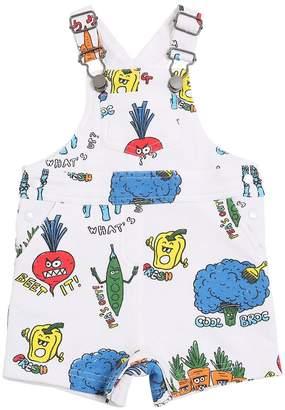 Stella McCartney Cotton Fleece Short Jumpsuit