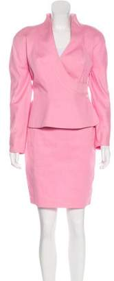 Thierry Mugler Knee-Length Skirt Suit