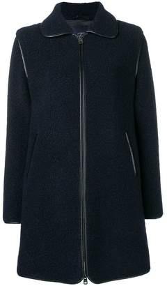 Fay straight fit coat