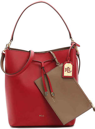 Lauren Ralph Lauren Dryden Debby Leather Shoulder Bag - Women's